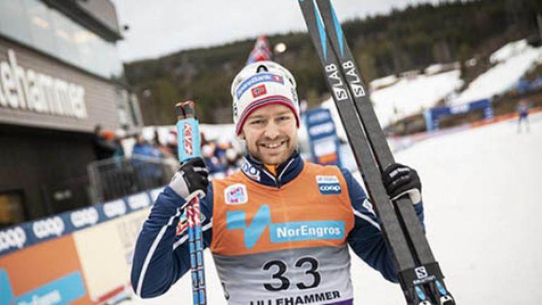"""Шюр Рьоте поведе норвежците към тотална доминация в старта на 15 км на """"Ски Тур 2020"""""""