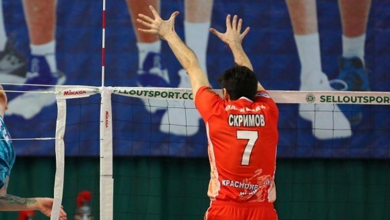 Тодор Скримов с 14 точки, Енисей с 8-а победа в Русия