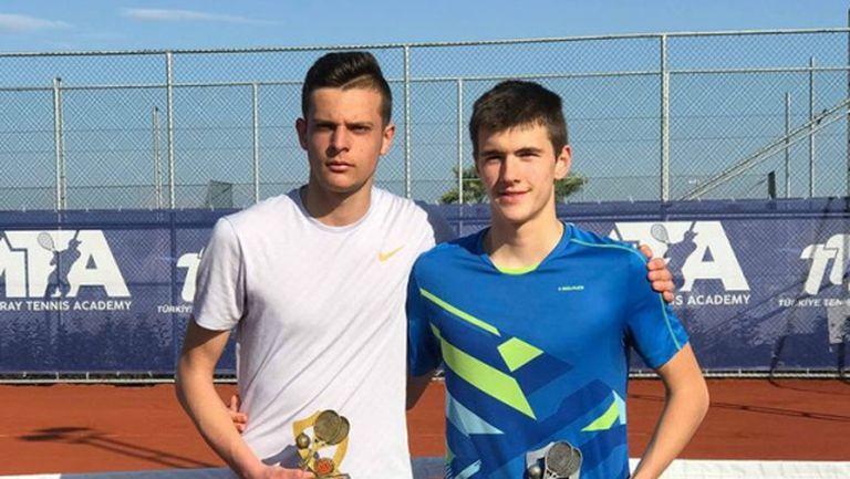 Симеон Терзиев е шампион в Анталия след категорична победа на финала