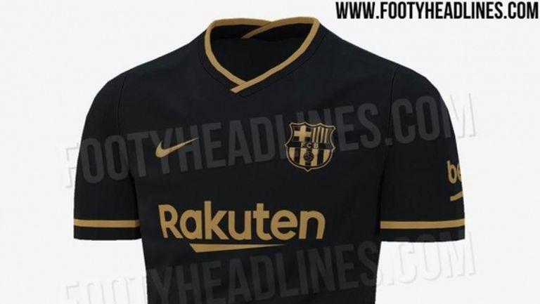 Барселона може да облече черни фланелки през новия сезон
