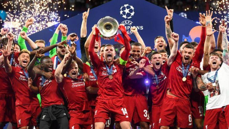 Ливърпул е първият клуб, който се класира за участие в ШЛ през следващия сезон