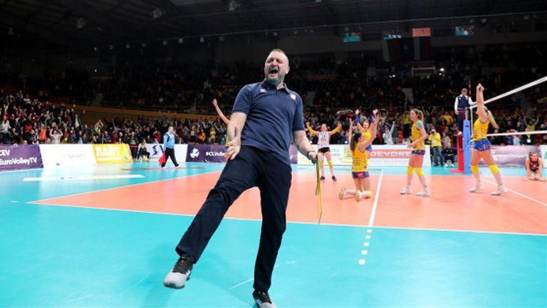 Иван Петков: Десет години надграждаме, благодаря на момичетата (видео)