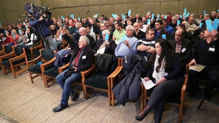 Спортният министър и много гости за Общото събрание на БФВ на 13 март
