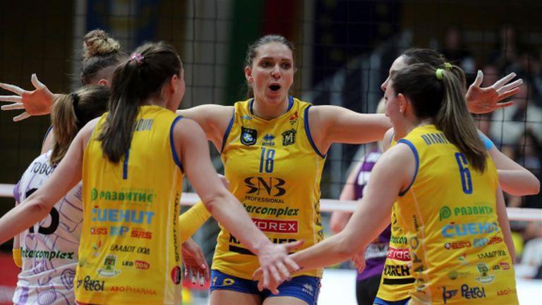 Волейболистки на Марица в индивидуалните класации на ШЛ