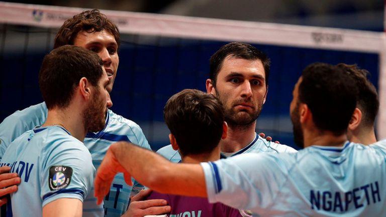 Цецо Соколов и Зенит завършиха с победа в групите на ШЛ (видео + снимки)