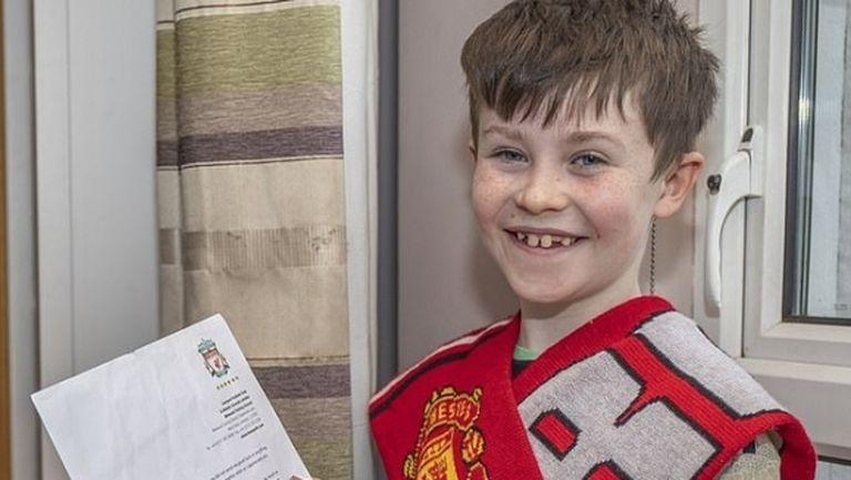 Клоп спечели още симпатии с писмо до 10-годишен фен на Юнайтед