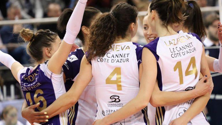 Петя Баракова и Ева Янева близо до полуфинал за Купата на CEV (снимки)