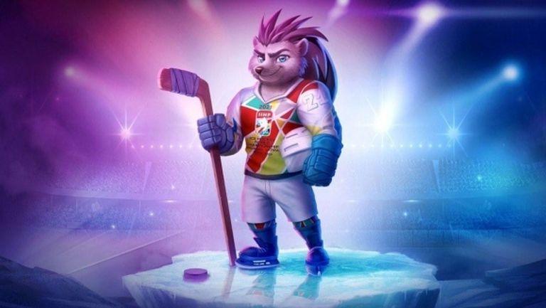 Таралежът Спайки е талисманът на Световното по хокей за мъже