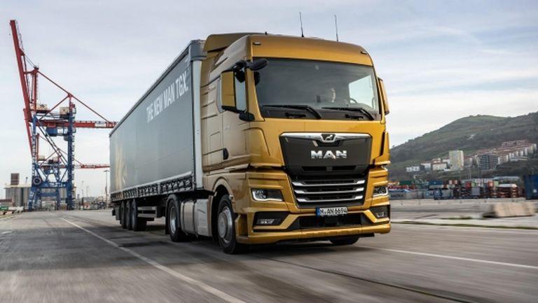 MAN представи камионите на бъдещето