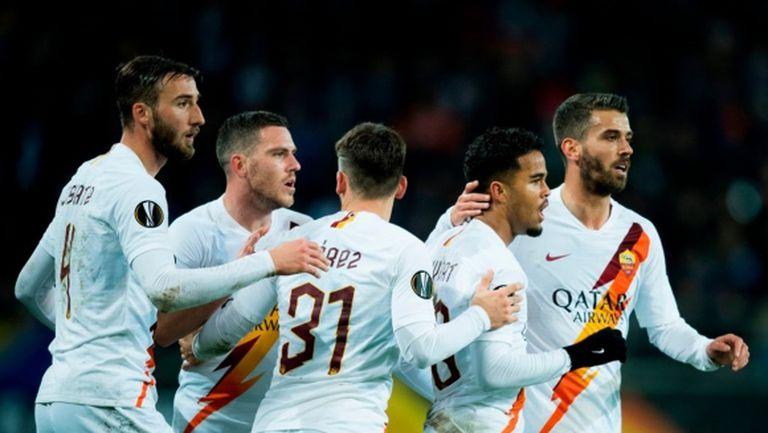 Рома си свърши работата в Белгия (видео)