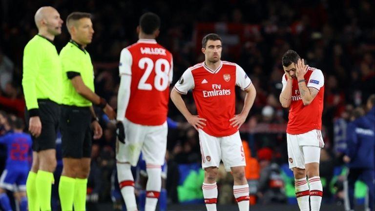 Мартин Киоун: Поведението на Арсенал бе непрофесионално