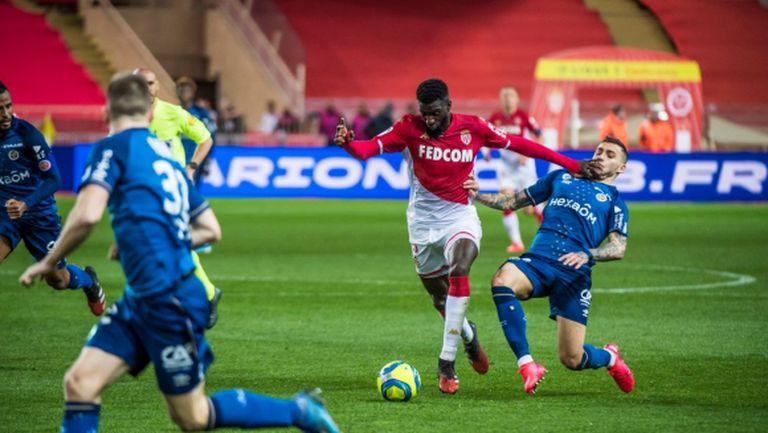 Монако изпусна победата срещу Реймс у дома