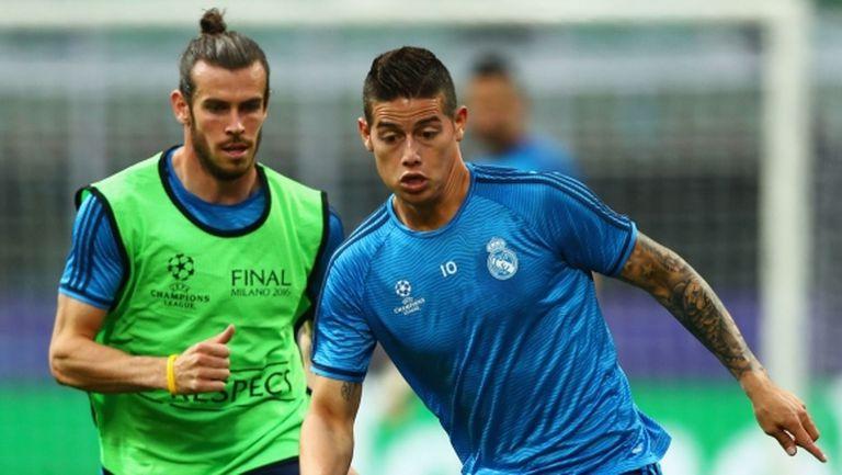 Бейл и Хамес останаха извън групата на Реал Мадрид за мача с Брюж