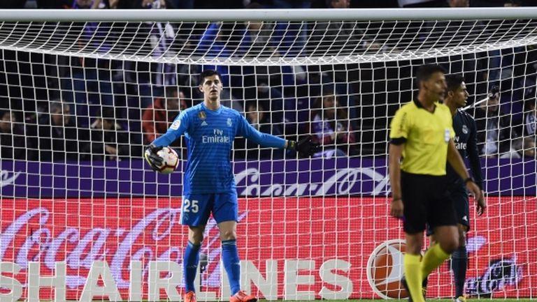 Реал Мадрид защити Куртоа със специално съобщение