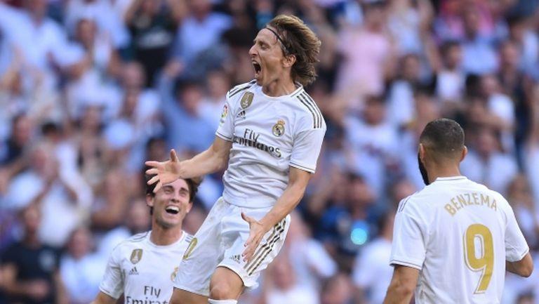Реал Мадрид е различен в Ла Лига, макар че пак показа слабости (видео+галерия)