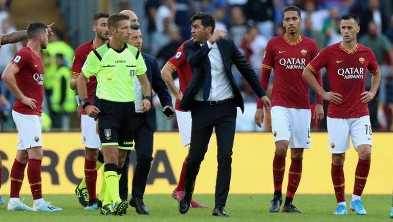 Рома не успя да прекърши Каляри в 101-минутен мач с драматичен край (видео)