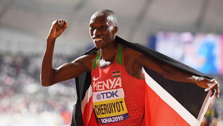 Тим Черуйот отвя конкуренцията на 1500 метра