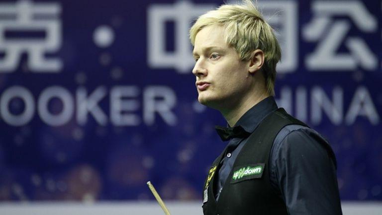 Нийл Робъртсън спечели първата група от Championship League Snooker