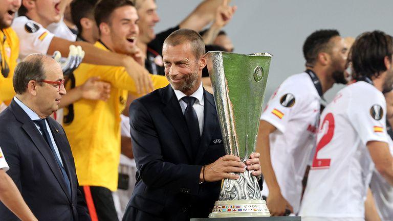 Босът на УЕФА: Реал, Барса и Юве твърдят, че с ШЛ е свършено, но се натискат да играят в нея