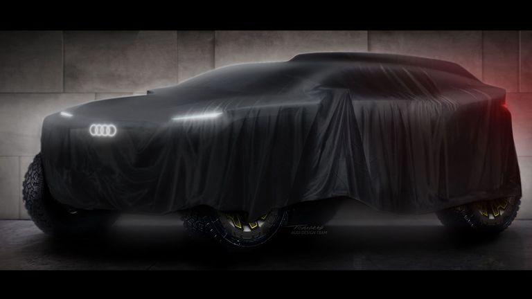 Стефан Петерханзел и Карлос Сайнц ще карат за Audi в първото участие на тима в Рали Дакар с електрически прототип