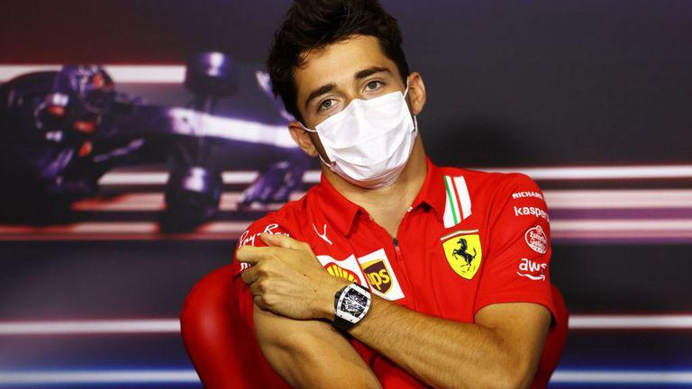 Леклер вече е направил първи тест на болида на Ферари за 2022 година