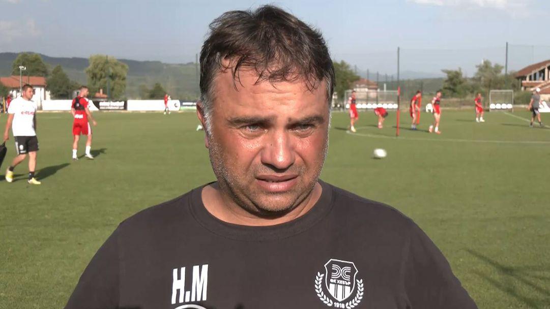 Ники Митов: Доволен съм от новите в отбора