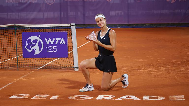 Анна-Каролина Шмиедлова спечели турнира по тенис в Белград