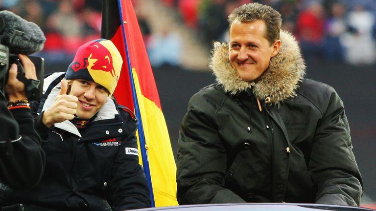 Фетел се надява Верстапен да запази името на Шумахер до рекордните седем титли във Формула 1