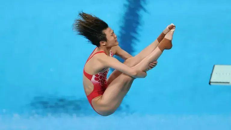 Китайска доминация в женските скокове от 3-метров трамплин в Токио