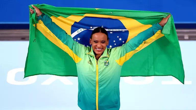 Титла за Бразилия на прескок при жените в спортната гимнастика