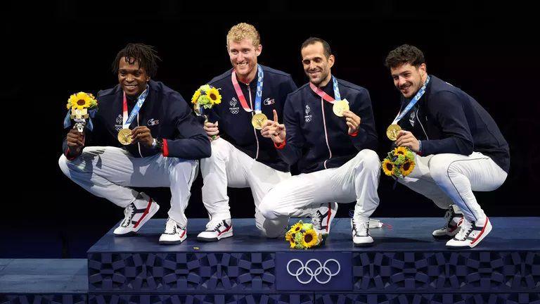 Франция спечели олимпийската титла на рапира
