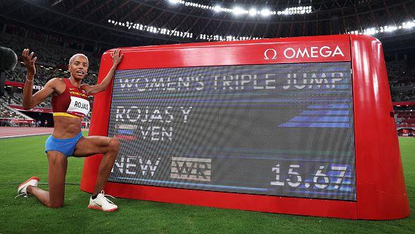 Феноменална Рохас подобри световния рекорд с 15.67 м за олимпийската титла в тройния скок