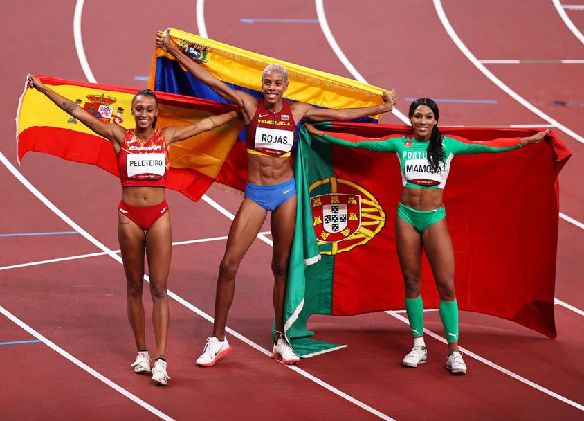 Юлимар Рохас подобри световния рекорд за олимпийската титла в тройния скок