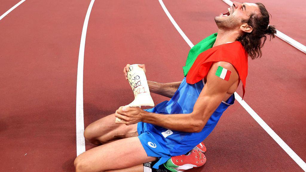 Историческо! Тамбери и Баршим поделиха олимпийската титла в скока на височина