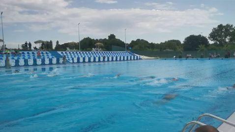 Реновиран олимпийски басейн 50 м в гр. Пазарджик