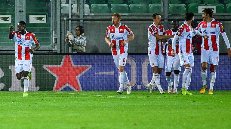 Играчите на Цървена звезда бяха посрещнати като герои в Сърбия след успеха срещу Лудогорец