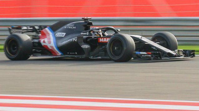 Алонсо доволен от теста на новите 18-инчови гуми за следващия сезон във Формула 1
