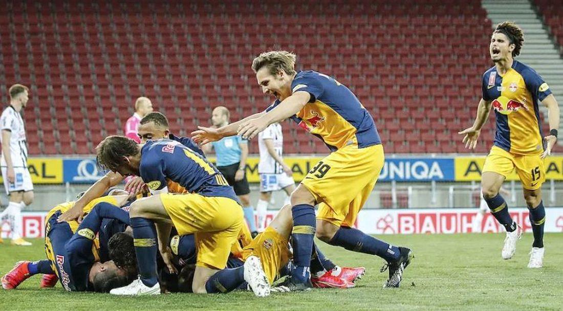 РБ Залцбург спечели Купата на Австрия за трета поредна година