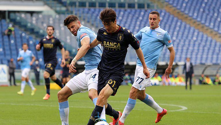 "Лацио победи Дженоа със зрелищното 4:3 на ""Олимпико"""
