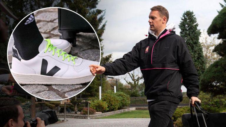 Нойер заплашен от 200 000 евро глоба заради маратонки