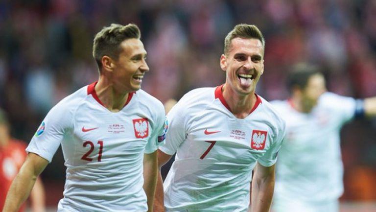 Две асистенции на Левандовски и два гола от резерви пратиха Полша на Евро 2020