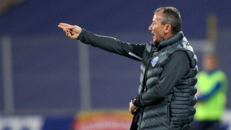 Белчев: Неприятно! Ако бяхме вкарали единствената си възможност, мачът щеше да е различен