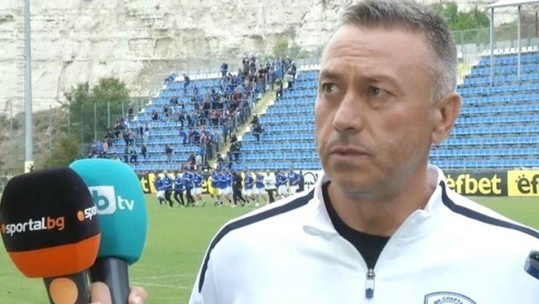 Спартак (Варна) остана без треньор заради националния отбор на България