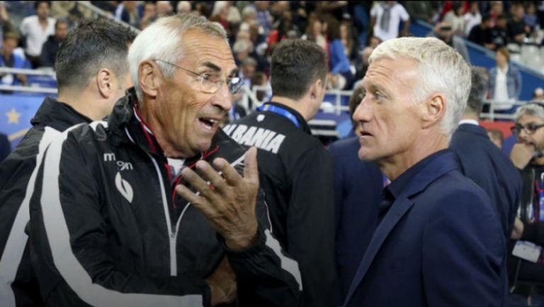 УЕФА глоби Франция заради гафа с химна на Албания