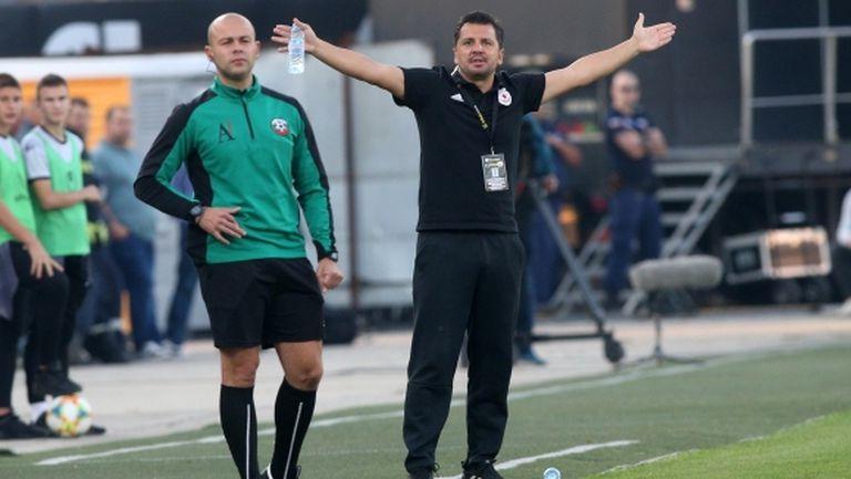 Крушчич каза какво иска от играчите си и обяви: Нямаме право на приятелски мачове (видео)
