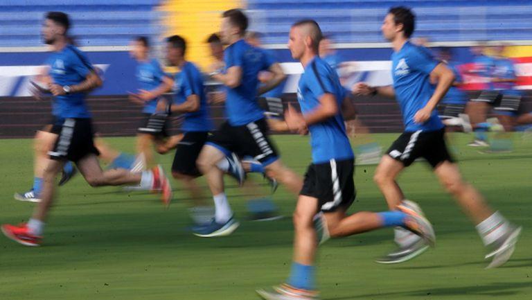 Още трима юноши на Левски тренират с първия отбор