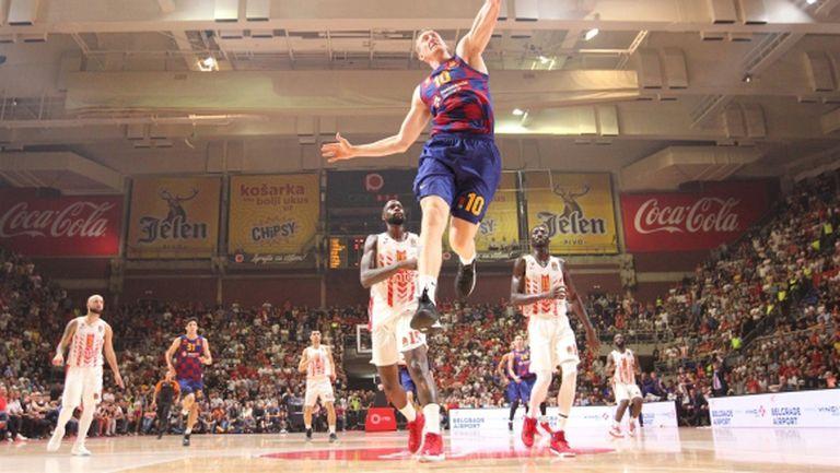 Барселона продължи победната си серия в Евролигата