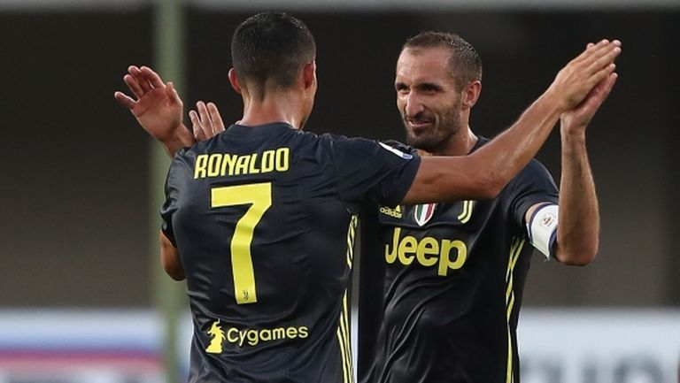 Киелини: Кристиано Роналдо е като хиена на терена