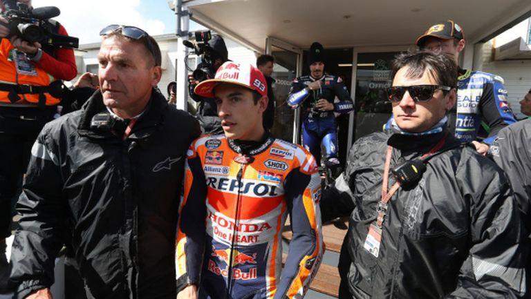 Отмениха квалификацията в MotoGP заради силен вятър