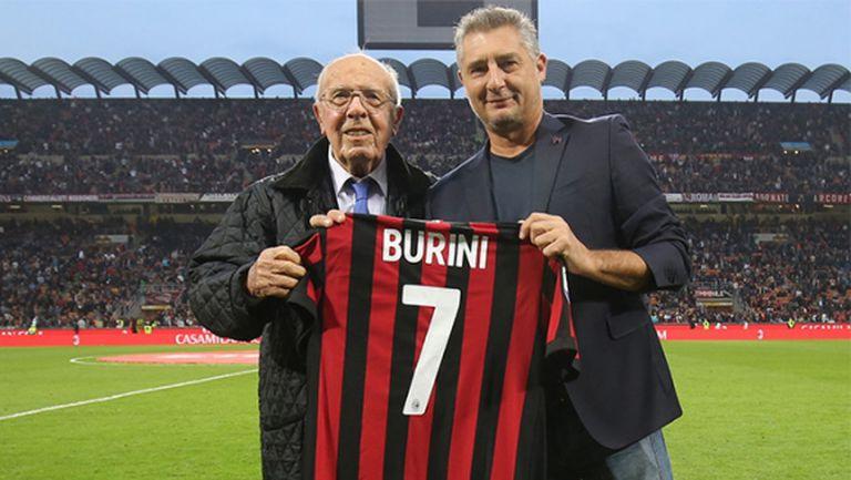 Почина легендарен нападател на Милан